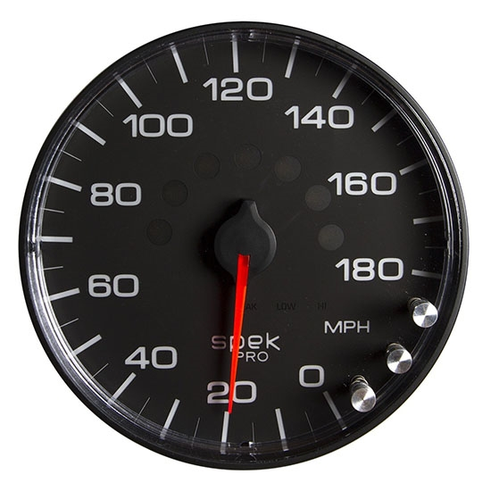 Auto Meter P230328 Spek-Pro Digital Stepper Motor Speedometer Gauge