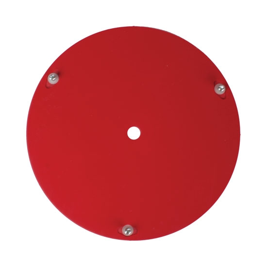 Bassett Racing Wheels 3RFR Replacement 15 Inch Wheel Mud Cover - Red