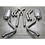 Garage Sale - Dynatech® 2006 and Newer Chevy/GMC 2500 Series 6.0 L Headers, Stainess Steel