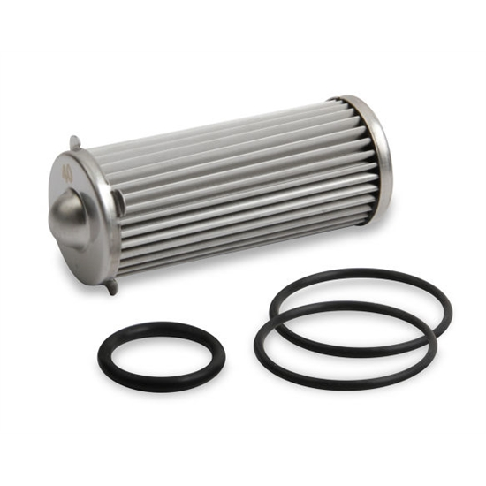 Earls 230619ERL HP Billet Fuel Filter Element & O-Ring Kit, 260 GPH