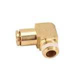 Air Suspension Push-In Tubing 90 Degree Elbow Fitting, 3/8 NPT Male