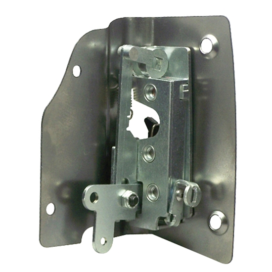 New 1947 1951 chevy pickup truck bolt in bear jaw door for 1940 ford door latch