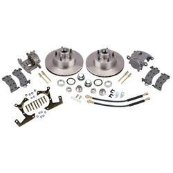 Deluxe Disc Brake Kits: 1957-1964 Ford Half Ton
