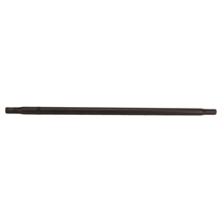 Stallard® Swedged 3/4 Inch Black Aluminum Radius Rod, 7/16 Inch Thread