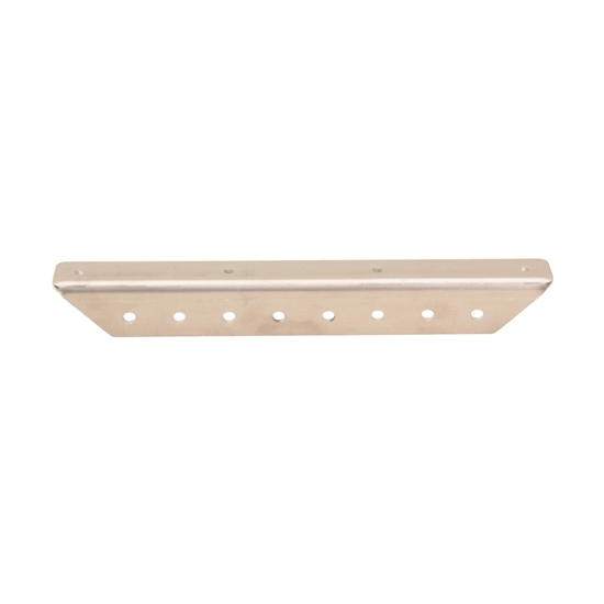 Aluminum Angle Body Bracing, 90 Degree, Drilled, 10 Inch