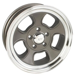 Team III ET Five-Window 15 Inch Wheel, 15x5, 5 on 4.75, 2-7/8 Backspace