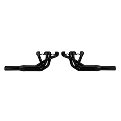 Schoenfeld Straight Tube Sprint Car Headers, 2 In., All Pro Head, 16 In. Cltr.