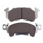 Hawk HB119M.594 Performance Black 1978-Up GM Metric Brake Pads
