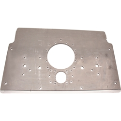 Schnee Chassis Raised Rail Steel Motorplate, Natural Finish