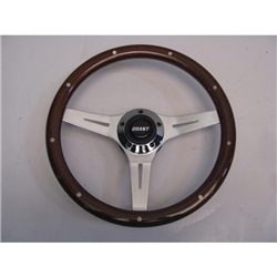 Garage Sale - Grant Collectors Edition Mahogany Wood Grip Steering Wheel