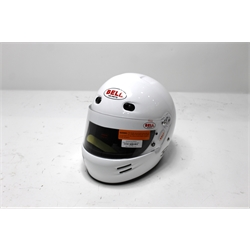 Garage Sale - Bell M4 SA10 Racing Helmet, White, Size XS