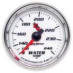 Auto Meter 7132 C2 Mechanical Water Temperature Gauge, 2-1/16 Inch