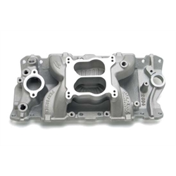 Edelbrock 2604 Performer Air-Gap Series Intake Manifold, Chevy