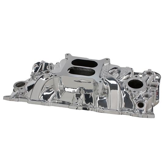 Edelbrock 27014 Endurashine SBC Performer EPS Intake