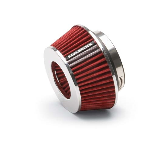 Edelbrock 43611 Pro-Flo Air Cleaner Element Air Filter, Cone, 3.7in.