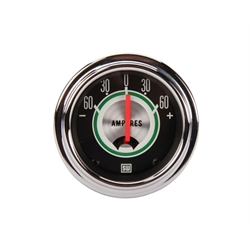 Stewart Warner 359CE Green Line Ammeter Gauge, 2-1/16 Inch