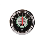 Stewart Warner 359CE Green Line Ammeter Gauge, 2-1/16 Inch