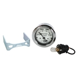 Stewart Warner 82477 Wings Electric Water Temp Gauge, White