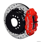 Wilwood 140-9221-DR FNSL 4R Rear Brake Kit, 2005 & Up Mustang