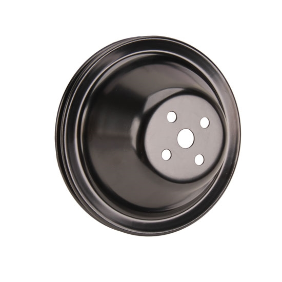 Small Pulleys : Single groove water pump pulley small block chevy short