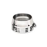 Billet Specialties 67825 Aluminum Hose Clamp, 1-1/2 Inch Rubber Hose