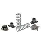 Speedway Basic Coil Spring Rear Suspension Kit, 3 Inch Axle Tube