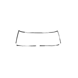 Sherman 695-44MA 67-69 Camaro/Firebird Convertible Windshield Molding