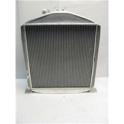 Garage Sale - 4-1/2 Inch Chopped 1932 Low-Boy Aluminum Radiator