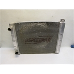 Garage Sale - Speedway Double Pass Aluminum Radiator, Ford-Mopar, 26 Inch