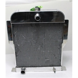 Garage Sale - AFCO 1949-53 Ford Car Alum Radiator, Ford Engine, Polished, No Trans Cooler