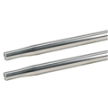 AFCO 36221 Swedged Aluminum Tube, 1 Inch O.D.(5/8) Inch, 21 Inch Long