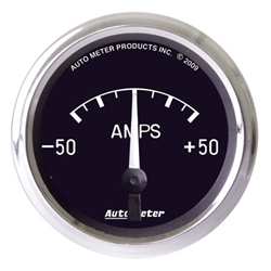 Auto Meter 201012 Cobra Air-Core Ammeter Gauge, 2-1/16 Inch