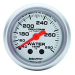 Auto Meter 4331 Ultra-Lite Mechanical Water Temperature Gauge