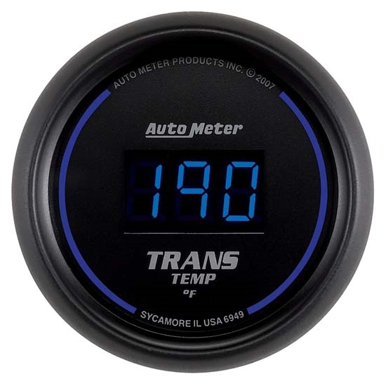 Auto Meter 6949 Cobalt Digital Transmission Temperature Gauge