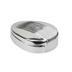 OTB Gear 4420 Finned Teardrop Air Cleaner, Polished
