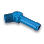 Earls 984410ERL Blue 45 Degree 5/8 Inch Hose to 1/2 In NPT Male Elbow