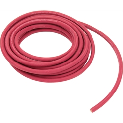 Red Welding Cable - Battery Cable, 25 Foot, 2ga