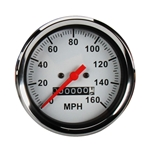 Speedway Mechanical Speedometer, 3-3/8 Inch Diameter