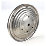 Pedal Car Parts, 7-1/2 Inch Ripple Wheel, 3 Inch Cap