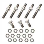 One Nut Titanium Radius Rod Kit