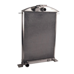 Garage Sale - AFCO 1936 Ford Aluminum Radiator, Ford Engine, No Trans Cooler