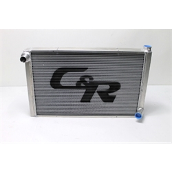 Garage Sale - C&R Radiators Chevy Aluminum Radiator, 19 x 31 Inch