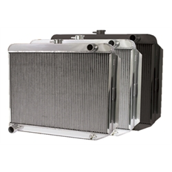 AFCO Direct Fit &#39;60-&#39;78 Mopar A, B, E-Body Radiator, 26 x 22 Inch, Pass. Side ...