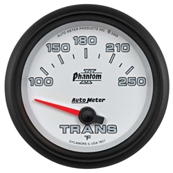 Auto Meter 7857 Phantom II Air-Core Transmission Temperature Gauge