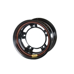 Bassett 50SR3-LW 15 X 10 Ultra Lite Wide 5 Wheel, 3 Inch, Black