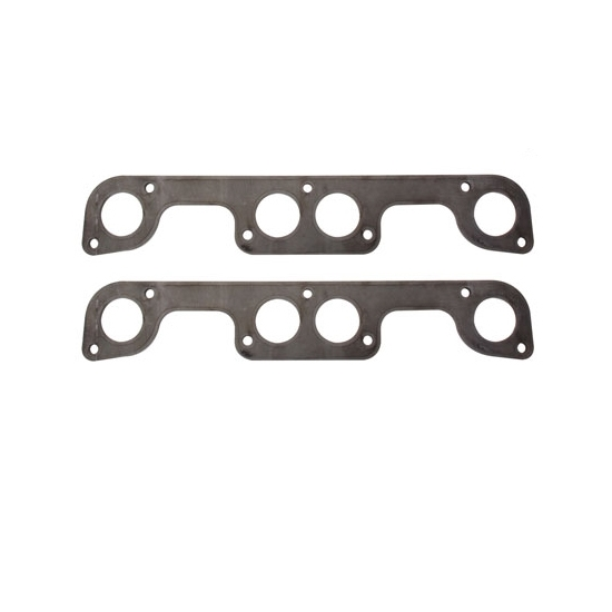 Header Flange Plates, Small Block Chevy Brodix Spread Port, 2 Inch