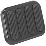 Lokar XBFG-6013 XL Series Billet Aluminum Brake Pedal Pad w/Rubber