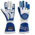 Garage Sale - Sparco Gloves - Tornado - X-Small - Blue/White