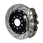 Wilwood 140-13698-DN AERO4 14.25 Inch Rear Brake Kit, 2014-Up C7 Corvette