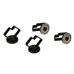 Mag Daddy 1 Inch Large Cable Daddy Magnetic Wire/Cable Fasteners, 4-Pack